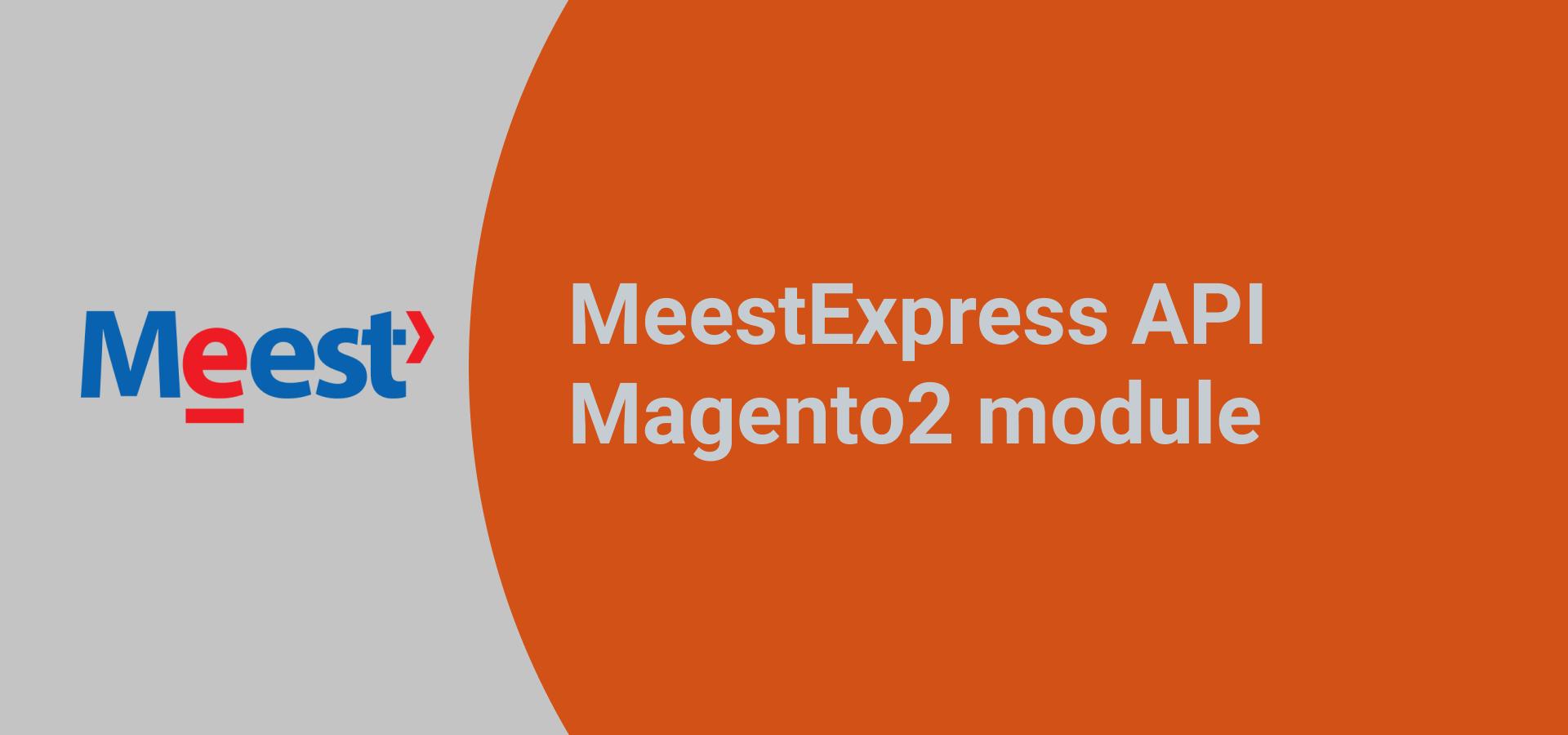 MeestExpress API Magento2 module